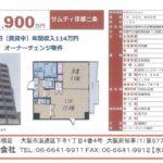 【売約済】中古分譲マンション【サムティ京都二条】価格1900万円